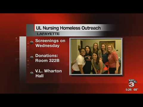 UL Nursing Students Seek Donations For Homeless Outreach