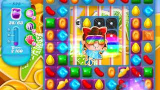 Candy Crush Soda Saga Level 523
