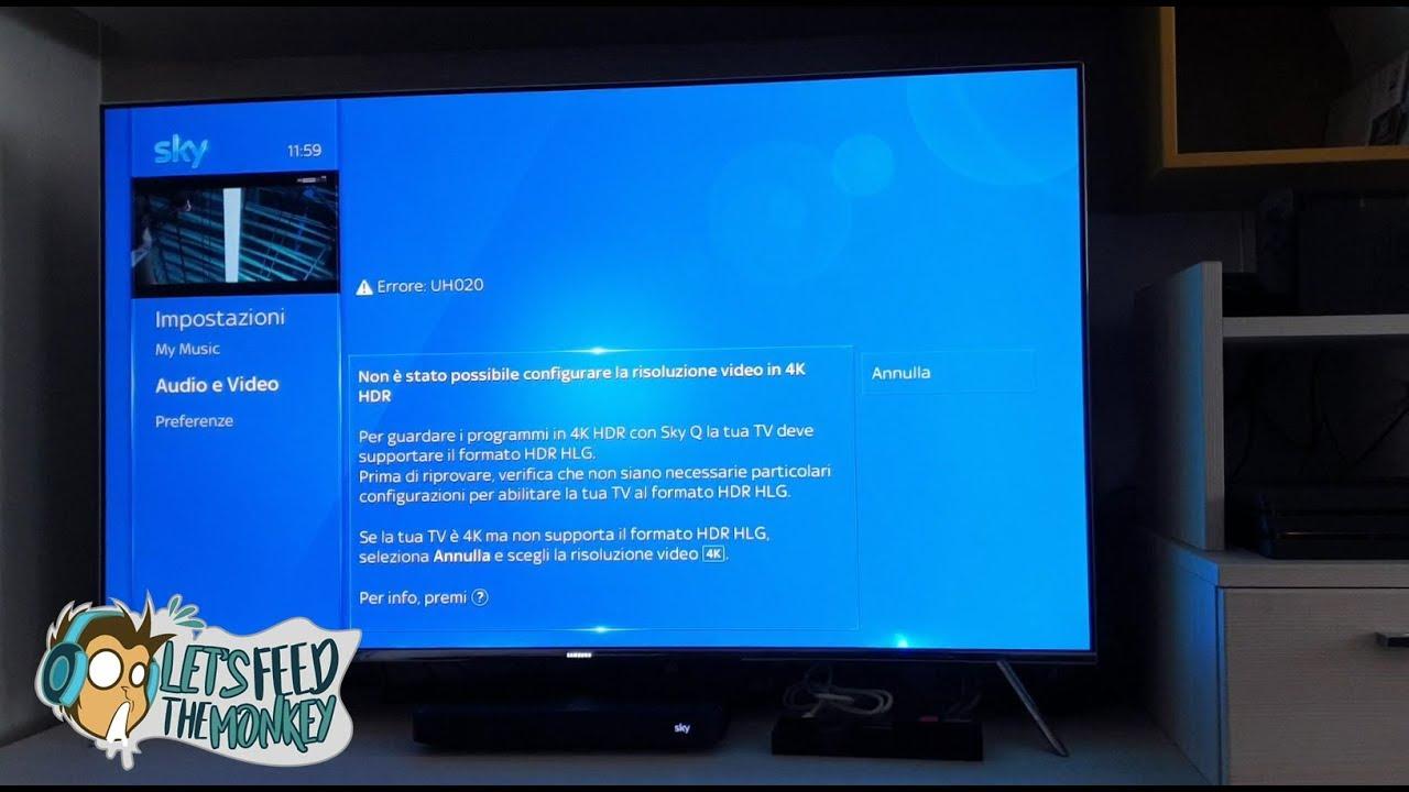 Guida Aggiornamento Manuale Fw Tv Samsung Per Sky Q 4k Hdr Youtube