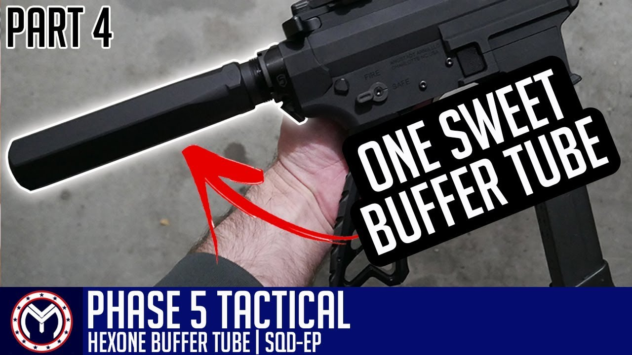 AR 9mm Pistol Build | Phase 5 Buffer Tube | How to Build: PART 4