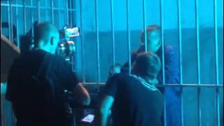 Гуф во время сьемок клипа Центр и А Студио