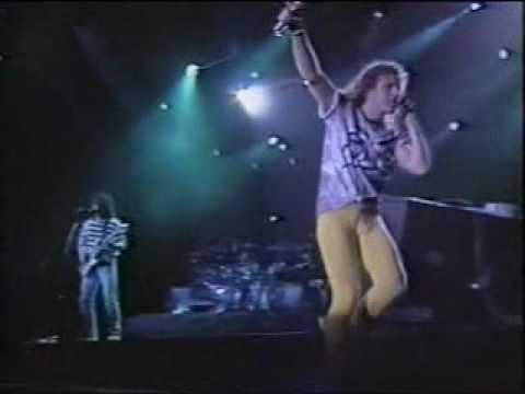 Van Halen - Black and blue (live 1989)