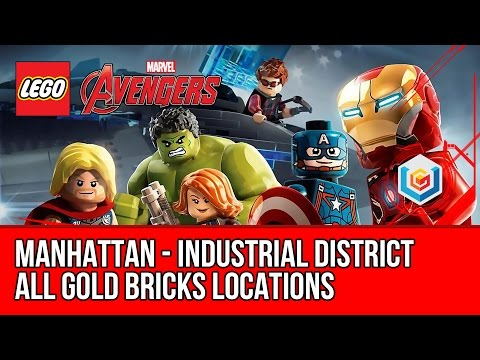 LEGO Marvel's Avengers - Manhattan - All Gold Bricks Collectibles - Industrial District