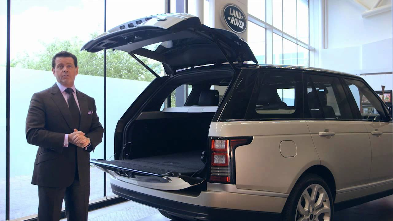 2013 Range Rover Tailgate The Best Just Got Better Youtube