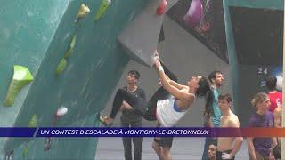 Yvelines | Un contest d'escalade à Montigny-le-Bretonneux