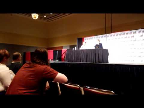Kansas City Comic Con Aaron Stanford Q and A