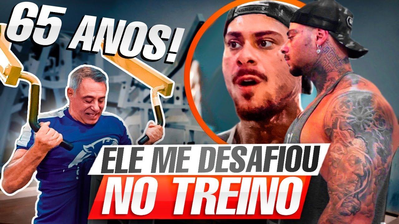 TREINO ABSURDO COM SERGIO AMIM! SERA QUEM VEM PROJETO? - LEO STRONDA