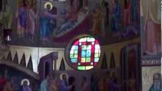 Израиль  Капернаум  Церковь 12 апостолов(Израиль. Озеро Кенерет, Капернаум, Церковь 12 апостолов. Музыка для этого клипа http://www.jamendo.com/en/track/747792/lonely-night., 2013-12-05T05:03:37.000Z)