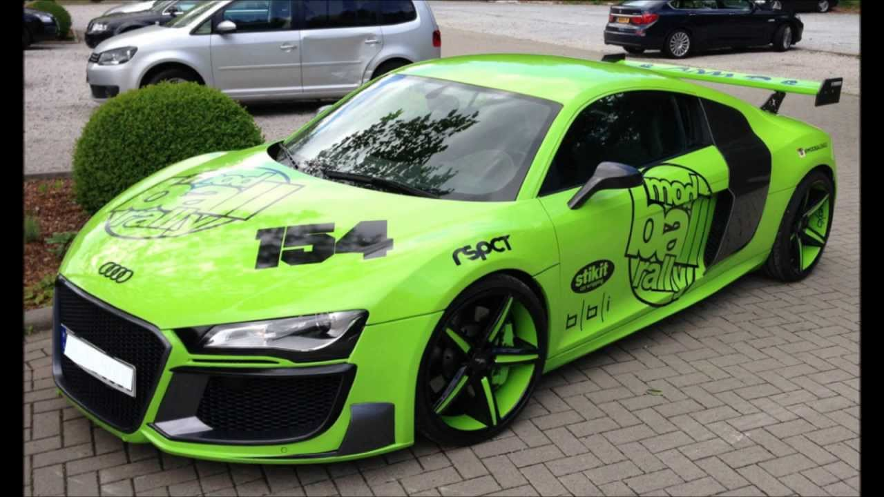 Audi R8 Tuning Body Kit Youtube