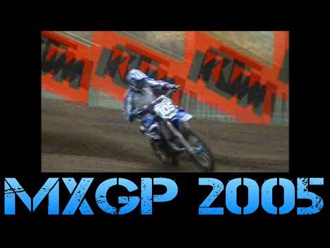 British MXGP 2005 Brad Anderson YZ 125 2Stroke
