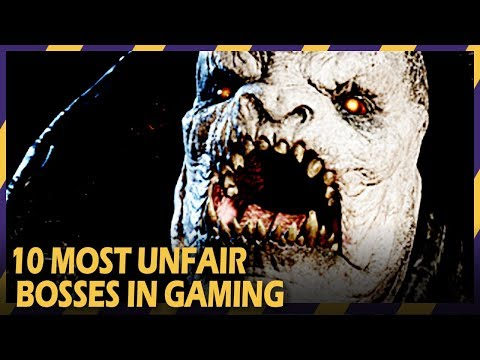 Thumbnail: 10 most unfair bosses in gaming
