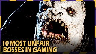 Video 10 Most Unfair Bosses In Gaming download MP3, 3GP, MP4, WEBM, AVI, FLV Juli 2018