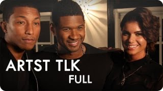 Usher and Pharrell Williams feat. Leah LaBelle | ARTST TLK™ Ep. 6 Full | Reserve Channel Video