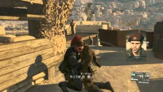 称号『FOXHOUND』は、メインオプスのミッションを完全ステルス非殺傷で3...