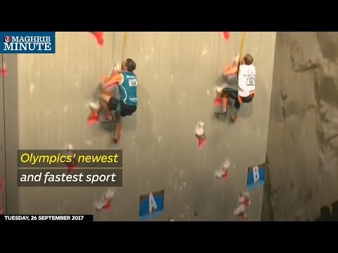 Olympics' newest and fastest sport
