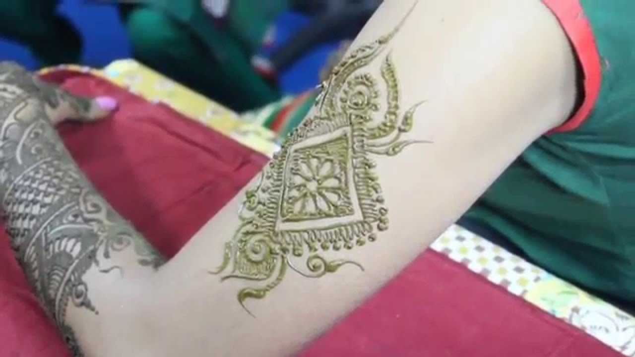 Mehndi Tattoo Designs For Upper Arms : Unique henna tattoo designs for arm love mehndi youtube