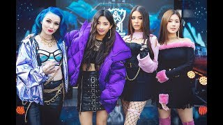 K/DA - POP/STARS(Official Lyrics video)(League of Legends)