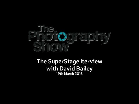The Photography Show - Super Stage interview with David Bailey - 19 March 2016
