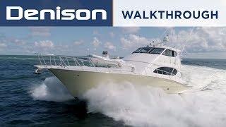 77' Hatteras Sportfish Yacht in Florida [Walkthrough]