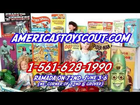 Joel Magee, America's Toy Scout in Omaha, NE. June 3-6 BUYING YOUR OLD TOYS, DOLLS, & COMIC BOOKS
