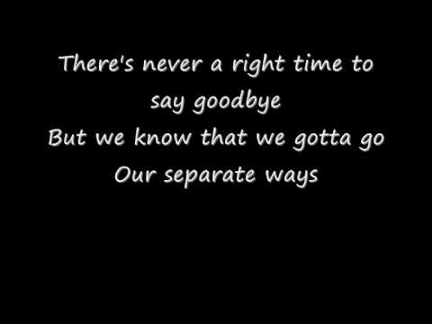 Say Goodbye - Chris Brown [ With Lyrics And Download Link ]