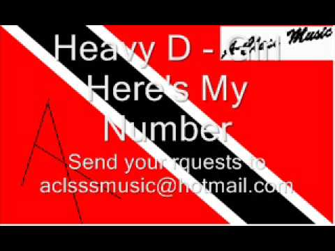 Heavy D - Girl Here's My Number