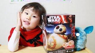 스타워즈 깨어난 포스 BB-8 무선 로봇 장난감 놀이 Star Wars BB-8 Toy Remote Control Droid by Hasbro Игрушки 라임튜브