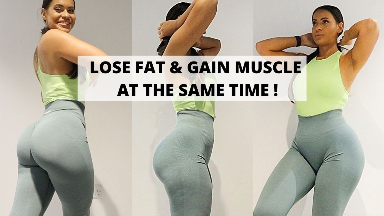 How To Lose Fat & Gain Muscle At The Same Time - Recomp