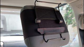 WANPOOL Universal Car Headrest Mount for iPad, Nintendo Switch, Samsung Tablets, Chrome Tablets, TFY / Видео