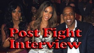 INTERVIEW: Jay-Z Attacked By Sister Solange Knowles (Parody)