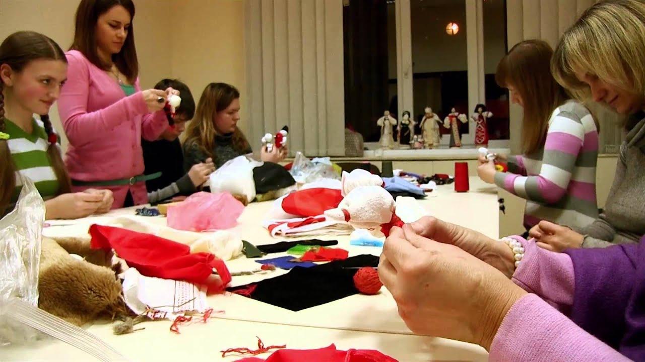 Бесплатный мастер класс по изготовлению кукол