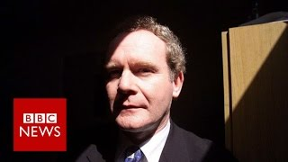 Martin McGuinness will not stand in election   BBC News