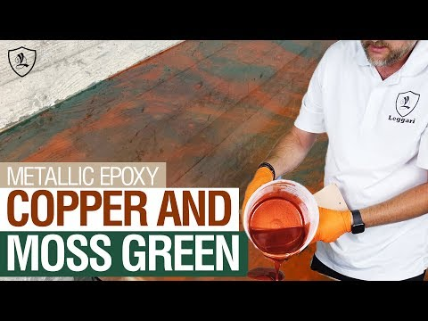 Copper & Moss Green Countertop | Kit #8
