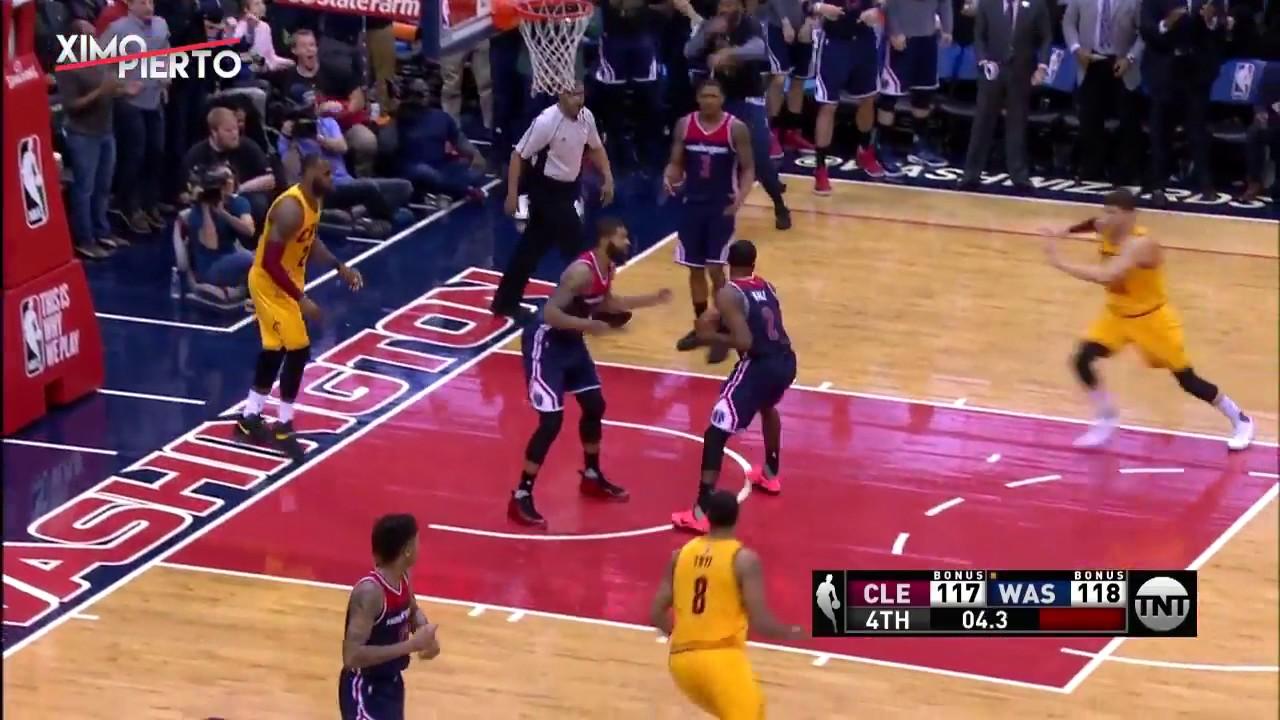 671fc8030d62 LeBron James Misses Game Winning Layup - YouTube