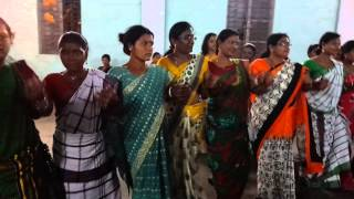 Dance  at Angul kherwal's birsole 2015