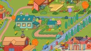 Toca life farm | the town?!?