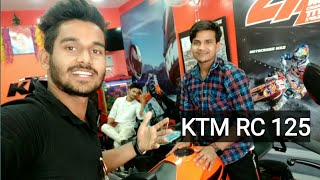 SURAJ purchase new KTM RC125 vlog || prasanjeet's life