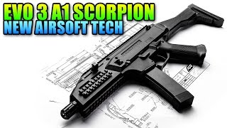 cz evo 3 a1 scorpion from asg review airsoft gameplay