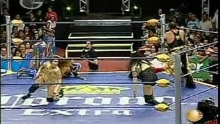AAA - Gran Apache, Fabi Apache, Mari Apache vs. Billy Boy, Tiffany, Oriental, 2009/02/28