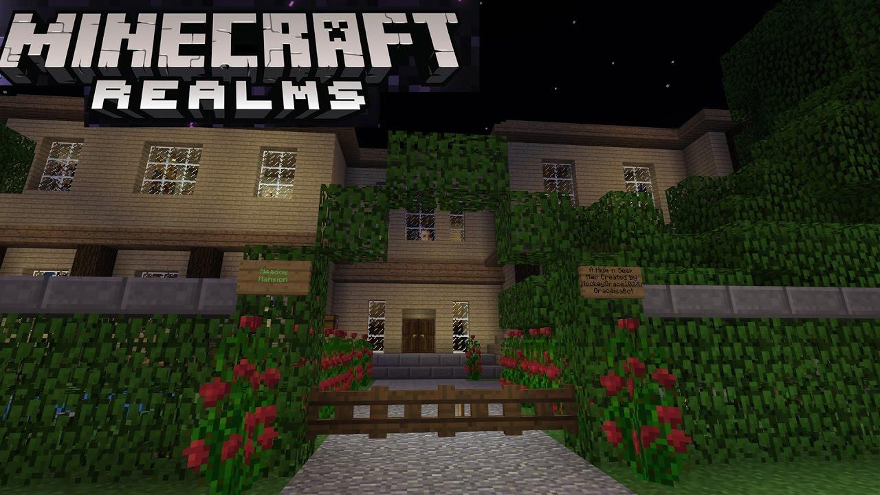 Minecraft Pocket Edition Survival Realm Livestream Skyland Online