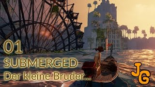 Submerged – Der kleine Bruder - Let's Play #1 - Deutsch – Gameplay – German – HD thumbnail