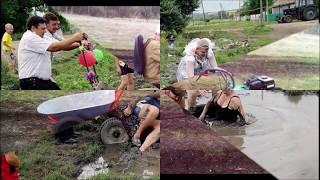 Видео приколы про деревню про село