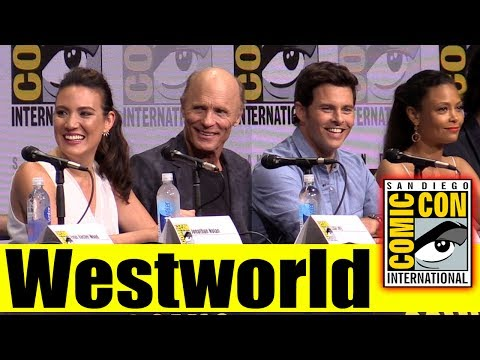 WESTWORLD | Comic Con 2017 Full Panel, News, and Highlights (Ed Harris, James Marsden, Ben Barnes)