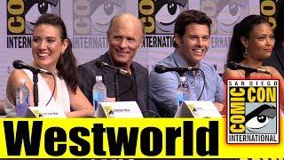 WESTWORLD | Comic Con 2017 Full Panel, News, and Highlights (Ed Harris, James Marsden, Ben Barnes)