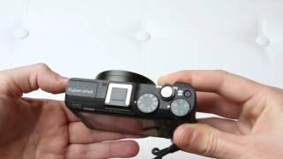 Sony Cyber-shot DSC HX60-V - review - camera outside overview