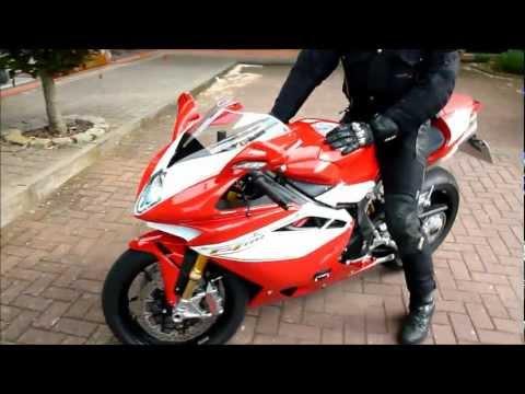 MV Agusta F4 RR Corsacorta Start Up and Exhaust Sound  * see also Playlist