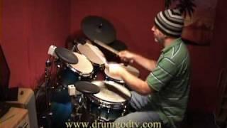 Cadbury Gorilla Drum Lesson.In The Air Tonight Mike Hoddinott