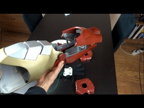 XRobots Vlog #4 - Iron Man Cosplay Hands/Suit update, my local Makerspace and other projects Travel Video