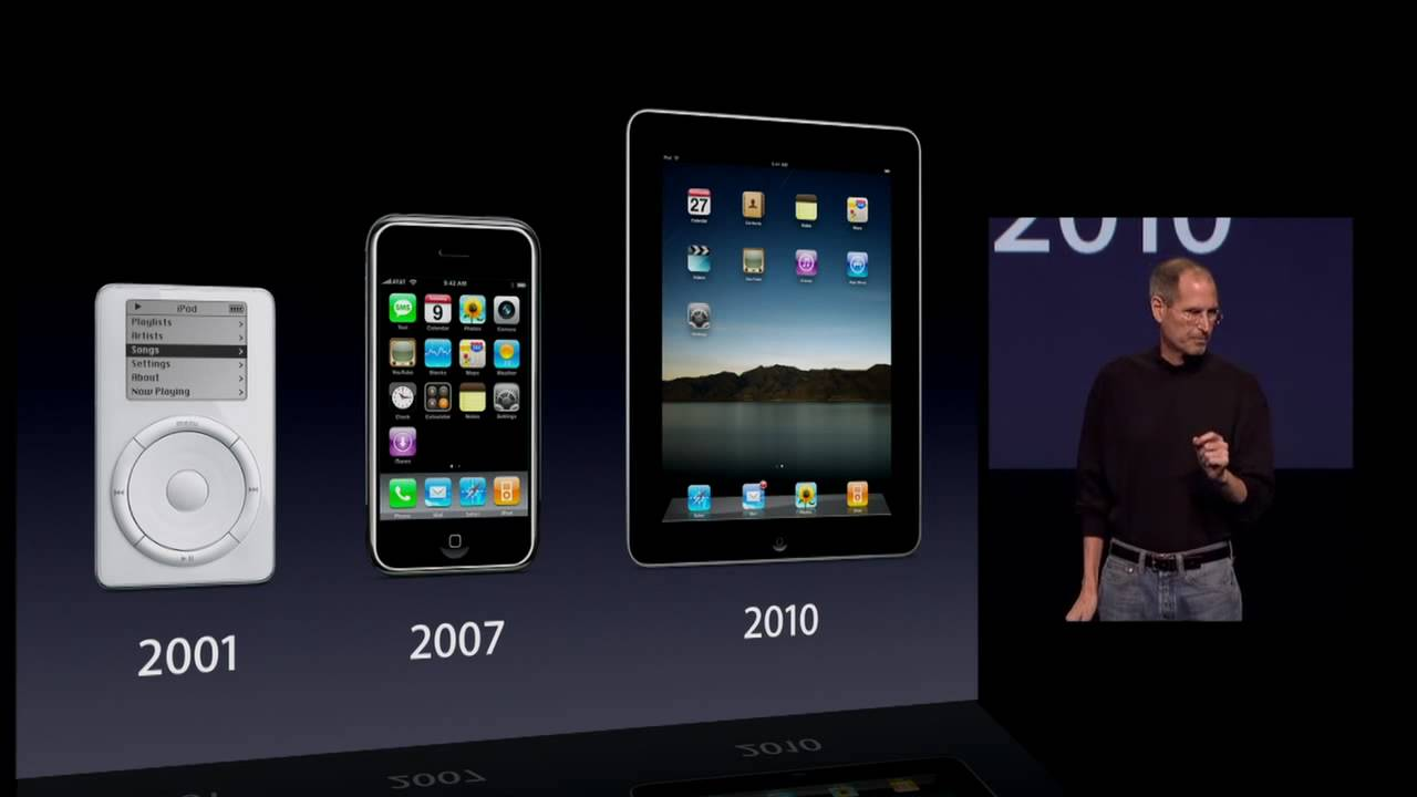 Image result for Steve jobs introducing the ipad