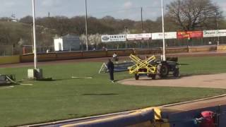 Tom brennan racing- Eastbourne eagles press and practice 2017